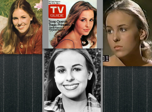 Young Genie Francis, looking like me