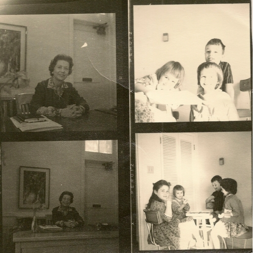 photo - family, and ?? mrs rohrbach